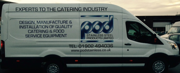 POD Stainless design, manufacture and installation of quality catering and food service equipment