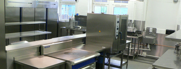 Duncombe school kitchen design, manufacture and installation