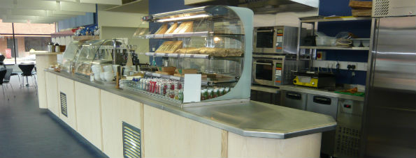 The Hive commercial kitchen installation