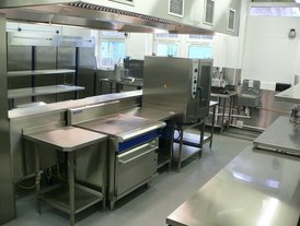 Food service counters 1