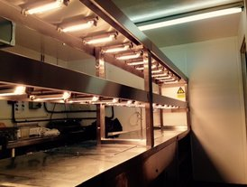 Kitchen heated plated meal unit Best Western Tillington Hall Stafford