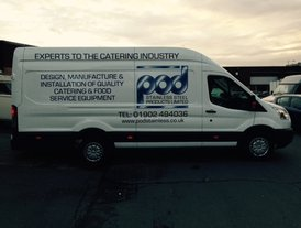 POD Stainless Experts to the Catering Industry