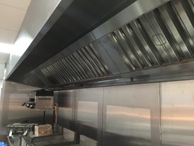 Stainless steel air extraction units