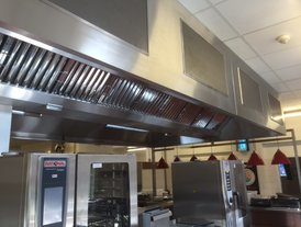 Kitchen air out andintake with tempering unit