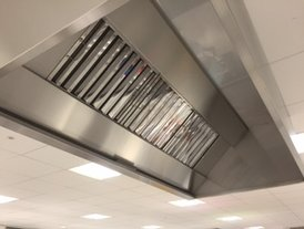 Stainless steel ventilation canopy duct