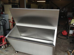 New Stainless Steel Filter Soaking Sink