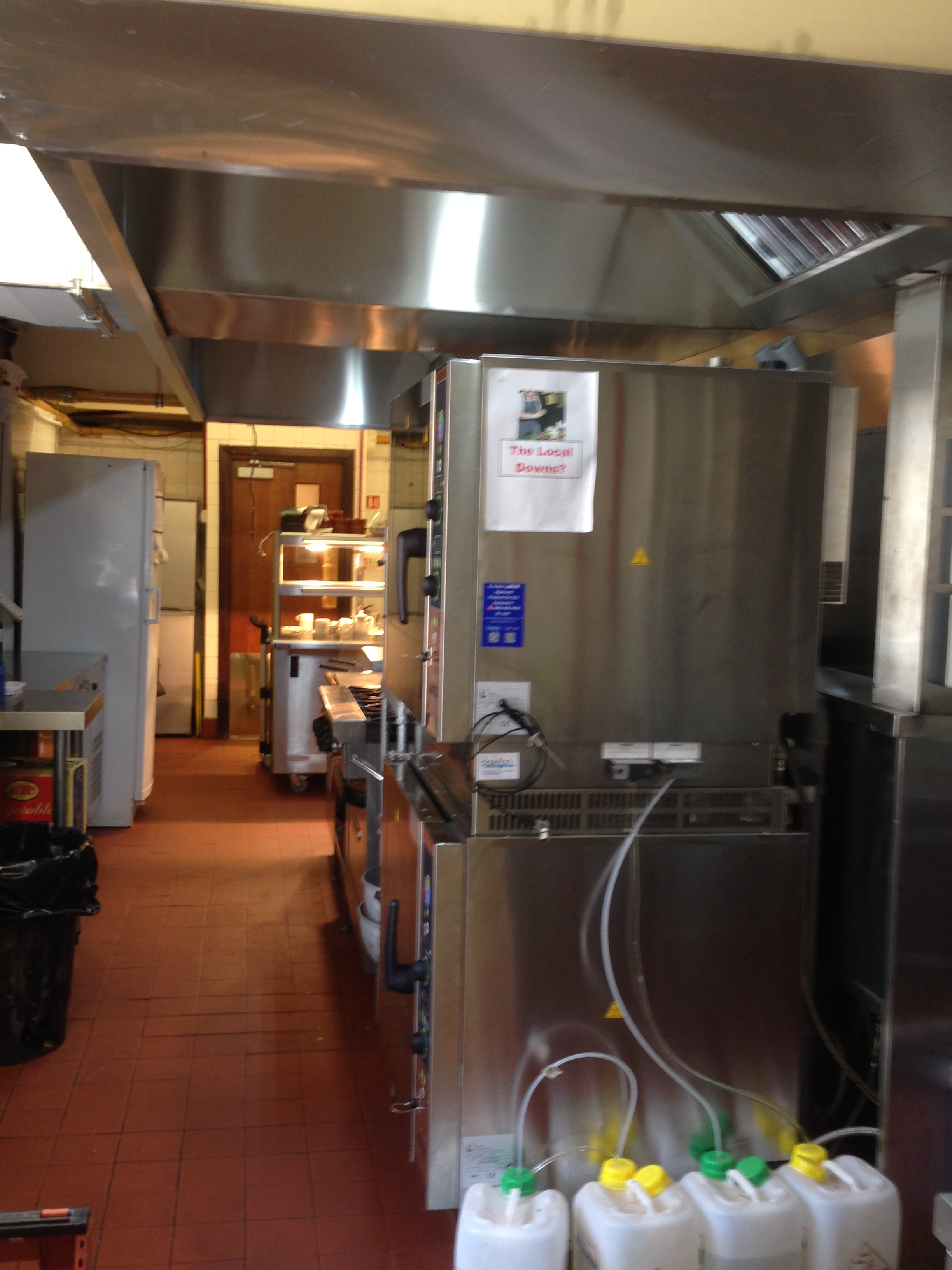 Commercial Kitchen Air Extraction System