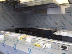Mobile Food Service Trailer Fit Out