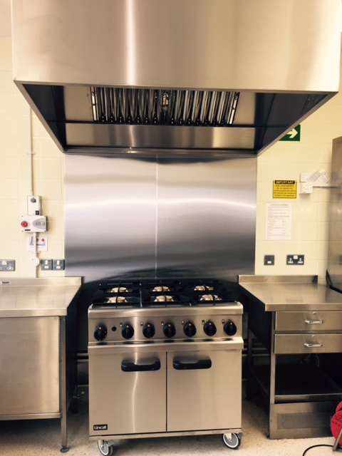Vale of Evesham School Residential Kitchen